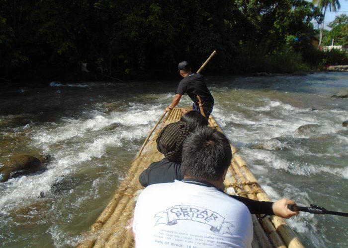 Bamboo Rafting Loksado